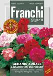 Geranie A Grandi Fiori Multicolor | Geraniesamen von Franchi Sementi