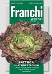 Salatsamen - Salat Quattro Stagioni von Franchi Sementi [MHD 12/2018]