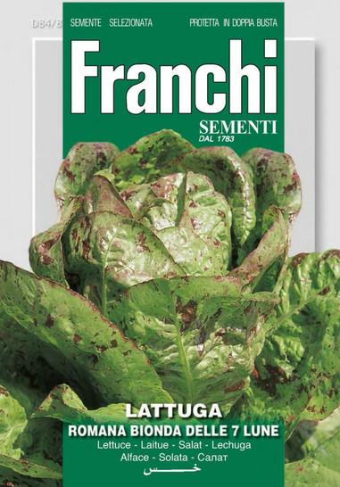 Salatsamen - Salat Romana Bionda Delle Sette Lune von Franchi Sementi