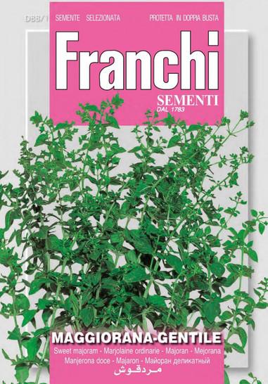 Majoran Gentile | Majoransamen von Franchi Sementi