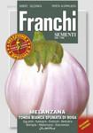 Aubergine Tonda Bianca Sfumata Rosa | Auberginensamen von Franchi Sementi