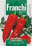 Paprika Corno Rosso | Paprikasamen von Franchi Sementi