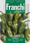 Paprika Pimientos Padron | Paprikasamen von Franchi Sementi