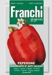 Paprikasamen - Paprika Quadrato D'Asti Rosso von Franchi Sementi
