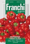 Paprikasamen - Paprika Topepo Rosso von Franchi Sementi