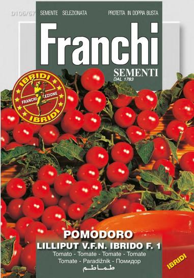 Tomate Lilliput V.F.N Ibrido F1-Hybride | Tomatensamen von Franchi Sementi