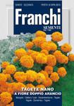 Studentenblume Nano A Fiore Doppio Arancio von Franchi Sementi [MHD 12/2018]