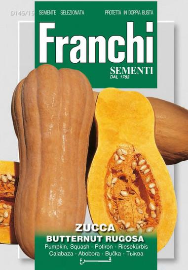 Kürbissamen - Riesenkürbis Butternut Rugosa von Franchi Sementi