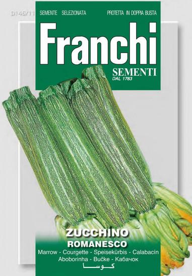 Kürbissamen - Zucchini Romanesco von Franchi Sementi