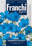 Lein Ornamental Sky Blue von Franchi Sementi
