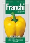 Paprika Giallo Di Cuneo | Paprikasamen von Franchi Sementi [MHD 12/2019] [MHD 12/2019]