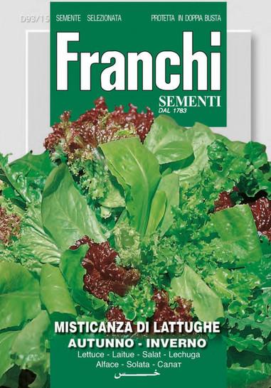 Salat Mischung Herbst - Winter | Salatsamen von Franchi Sementi