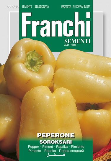 Gemüsesamen - Peperone Soroksari von Franchi Sementi [MHD 12/2018]