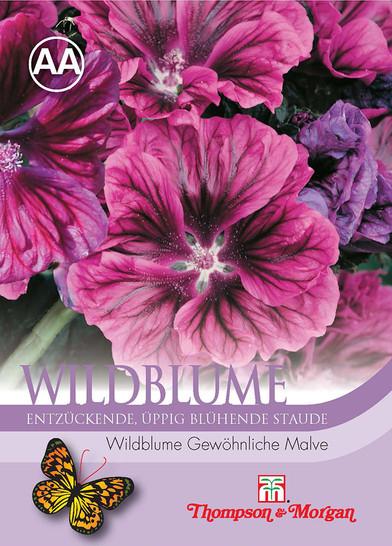 Wildblume Gewöhnliche Malve | Malvensamen von Thompson & Morgan