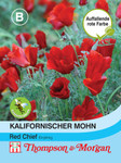 Kalifornischer Mohn Red Chief | Kalifornische Mohnsamen von Thompson & Morgan