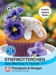Stiefmütterchen Tasty Mischung F1 Hybrid | Stiefmütterchensamen von Thompson & Morgan [MHD 01/2020]