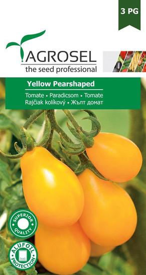 Tomatensamen - Tomate Yellow Pearshaped von Agrosel [MHD 11/2018]