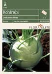 Kohlrabi Delikatess Witte | Kohlrabisamen von Flora Elite