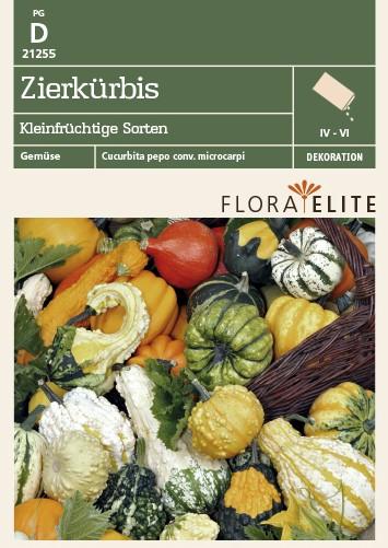 Zierkürbis Kleinfrüchtige Sorten von Flora Elite