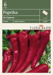 Paprikasamen - Paprika De Cayenne von Flora Elite [MHD 06/2019]