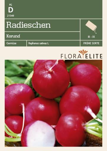 Radieschensamen - Radieschen Korund von Flora Elite