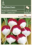 Radieschensamen - Radieschen Rundes halbrot-halbweiss von Flora Elite