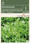 Schnittsalat A couper feuille de chêne blonde à graine noirevon Flora Elite