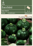 Zucchinisamen - Zucchini Eight Ball F1 von Flora Elite [MHD 06/2019]