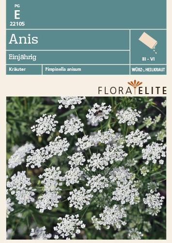 Kräutersamen - Anis Einjährig von Flora Elite [MHD 06/2018]