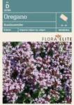 Oregano Ausdauernder von Flora Elite