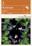 Stockrose Jet Black von Flora Elite