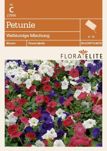 Petunie Vielblumige Mischung von Flora Elite [MHD 06/2018]
