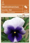 Stiefmütterchen Tempo Blau - Weiß | Stiefmütterchensamen von Flora Elite [MHD 06/2018]