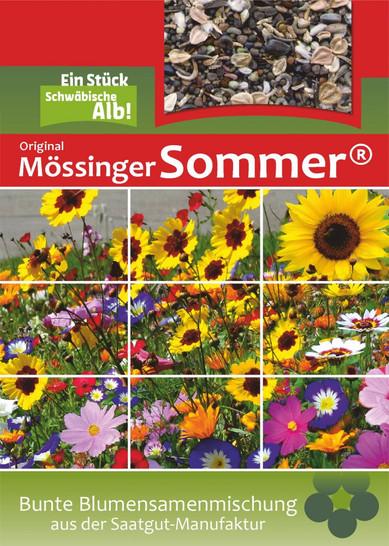 Mössinger Sommer 1 kg | Blumenwiesensamen von Saatgut-Manufaktur