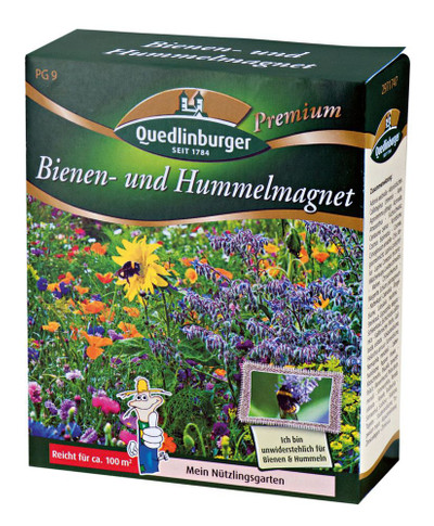Bienen- u. Hummelmagnet | Blumenmischung von Quedlinburger