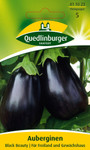 Aubergine Black Beauty | Auberginensamen von Quedlinburger