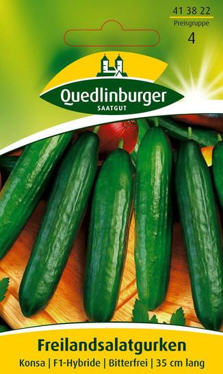 Gurkensamen - Freilandsalatgurke Konsa F1 von Quedlinburger Saatgut