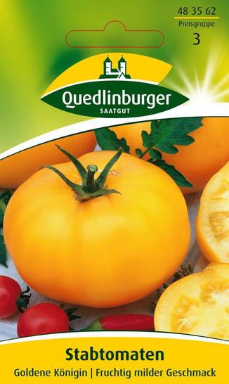Tomate Goldene Königin | Tomatensamen von Quedlinburger