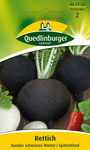 Rettichsamen - Rettich Runder schwarzer von Quedlinburger Saatgut