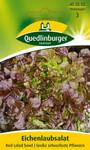 Salatsamen - Eichenlaubsalat Red Salad Bowl von Quedlinburger Saatgut