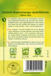 Zwiebelsamen - Zwiebel Braunschweiger dunkelblrote von Quedlinburger Saatgut