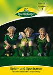 Rasensamen - Spiel- und Sportrasen Qualitätsgrassamen (45 g) von Quedlinburger Saatgut