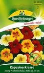 Kapuzinerkresse Zwerg-Prachtmischung von Quedlinburger Saatgut
