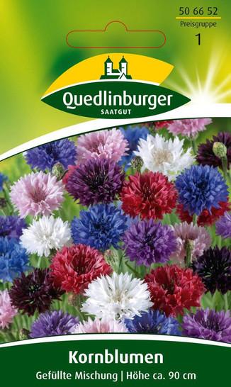 Kornblume Gefüllte Mischung | Kornblumensamen von Quedlinburger