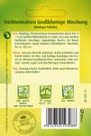 Trichtermalve Großblumige Mischung | Malvensamen von Quedlinburger
