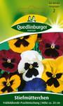 Stiefmütterchen Frühblühende Mischung von Quedlinburger Saatgut [MHD 01/2020]
