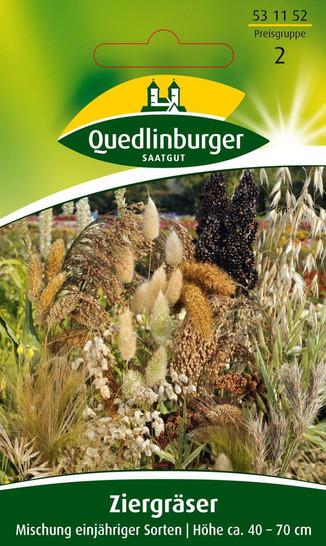 Ziergräser Einjährige Mischung   Gräsersamen von Quedlinburger