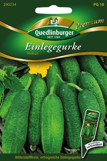Einlegegurken Hokus von Quedlinburger Saatgut