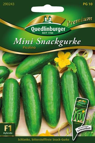 Mini-Snackgurken Picolino | Gurkensamen von Quedlinburger