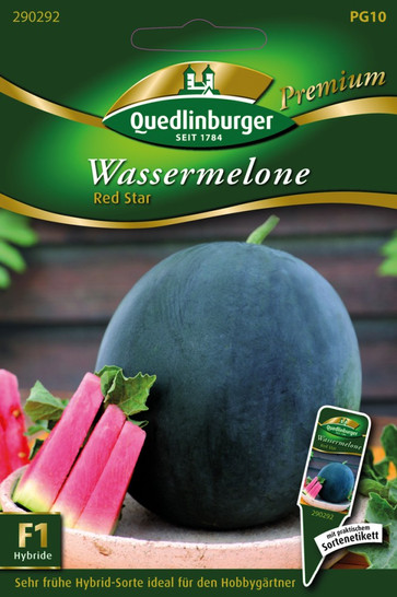 Wassermelonen Red Star von Quedlinburger Saatgut